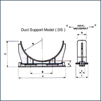 Duct Support Bearings